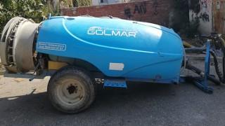 Salihli'deki Yol Kenarında Duran İlaçlama Makinası Çalıntı Çıktı