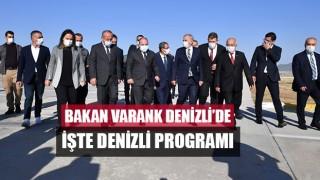 Bakan Varank Denizli'de işte Denizli programı