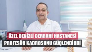 Beyin ve Sinir Cerrahi Uzmanı Prof. Dr. İlker Solmaz, ÖzelDenizliCerrahi Hastanesinde