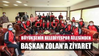 Büyükşehir Belediyespor Ailesinden Başkan Osman Zolan'a Ziyaret