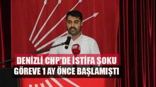 CHP'de istifa şoku Başkan'ı suçlayarak istifa etti