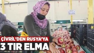 Çivril'den Rusya'ya 3 Tır Elma