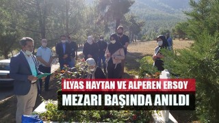 İlyas Haytan ve Alperen Ersoy mezarı başında anıldı