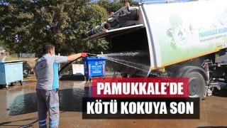 Pamukkale Belediyesi, temizlik araçları artık mis gibi kokacak