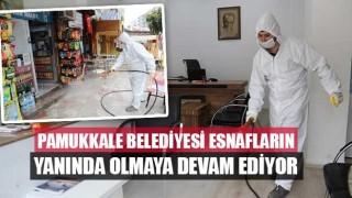 Pamukkale Belediyesi Esnafların Yanında Olmaya Devam Ediyor