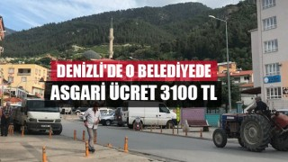 Denizli'de o belediyede asgari ücret 3100 TL