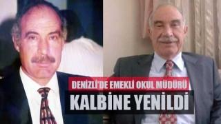 Denizli'de emekli okul müdürü kalbine yenildi