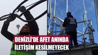 Denizli'de afet anında iletişim kesilmeyecek