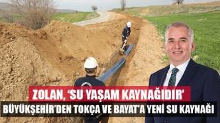 Denizli Büyükşehir'den Tokça ve Bayat'a yeni su kaynağı