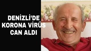 Denizli'de Sait Ezginci korona virüse yenildi