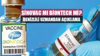 Denizli Tabip Odası Başkanı'ndan Sinovac Mı Biontech Mi sorusuna cevap