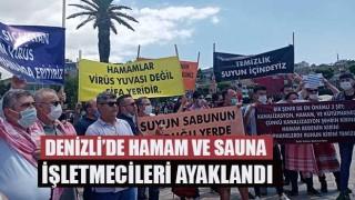 Denizli'de Hamam ve sauna işletmecilerinden açılma talebi