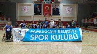 Pamukkale Belediyespor namağlup olarak Play-offlarda