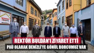 """PAÜ Rektörü: """"PAÜ olarak Denizli'ye Gönül Borcumuz Var"""""""