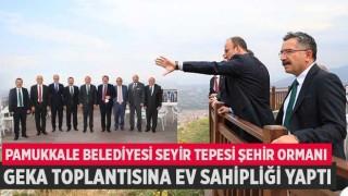 Pamukkale Belediyesi Seyir Tepesi Şehir Ormanı GEKA Toplantısına Ev Sahipliği Yaptı