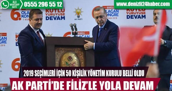 AK Parti'de Necip Filiz devam