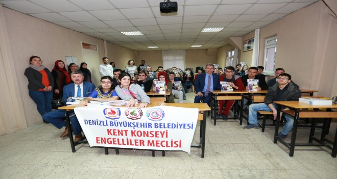 Denizli'de engellilere EKPSS desteği