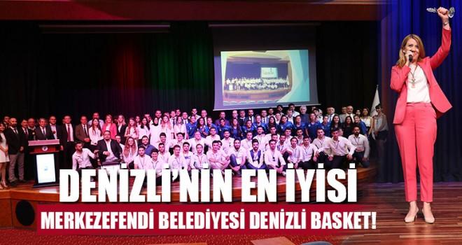 Denizli'nin En İyisi Merkezefendi Belediyesi Denizli Basket!