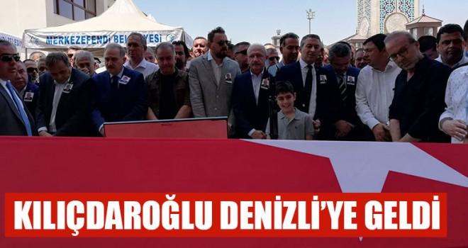 Kılıçdaroğlu Denizli'ye Geldi