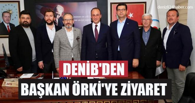 DENİB'den Başkan Örki'ye Ziyaret