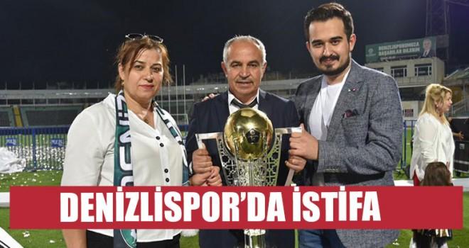 Denizlispor'da İstifa