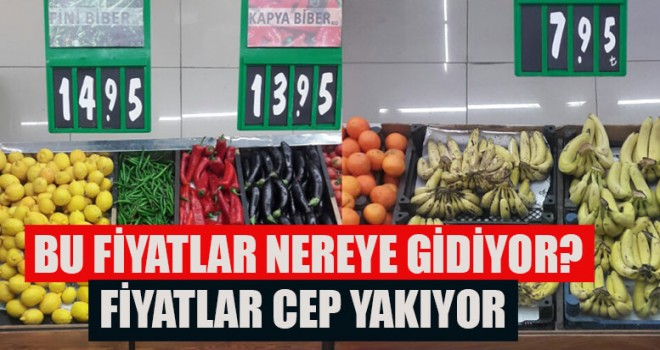 Denizli'de Fiyatlar Cep Yakıyor