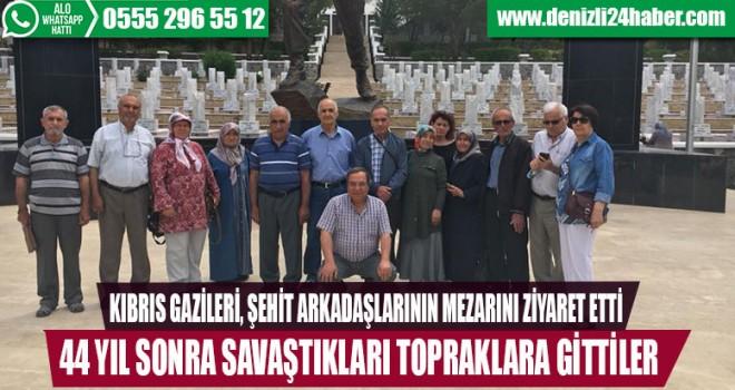 Çallı Gaziler Kıbrıs'ta