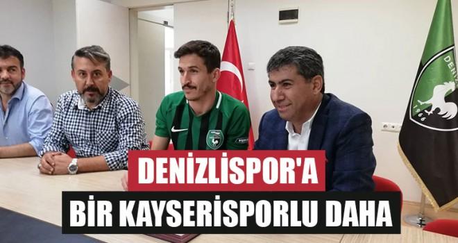 Denizlispor'a Bir Kayserisporlu Daha