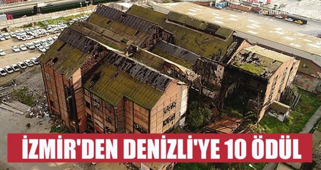 İzmir'den Denizli'ye 10 Ödül
