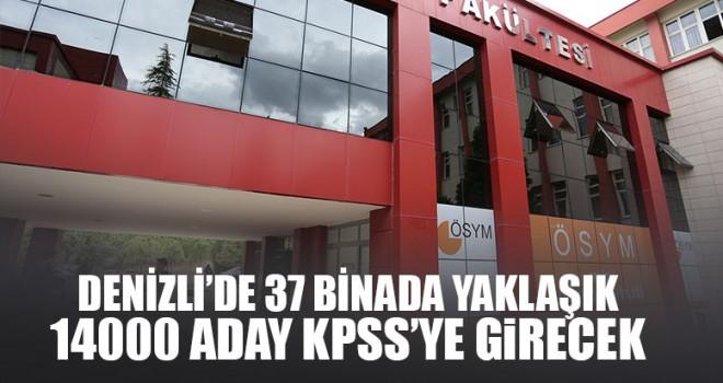 Denizli'de 37 Binada Yaklaşık 14000 Aday Kpss'ye Girecek
