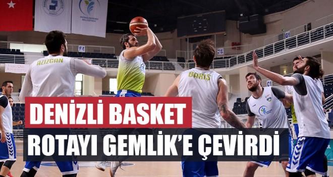 Denizli Basket Rotayı Gemlik'e Çevirdi