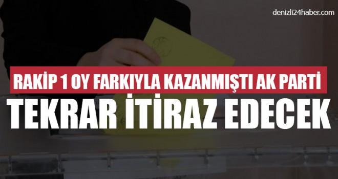 Rakip 1 Oy Farkıyla Kazanmıştı Ak Parti Tekrar İtiraz Edecek