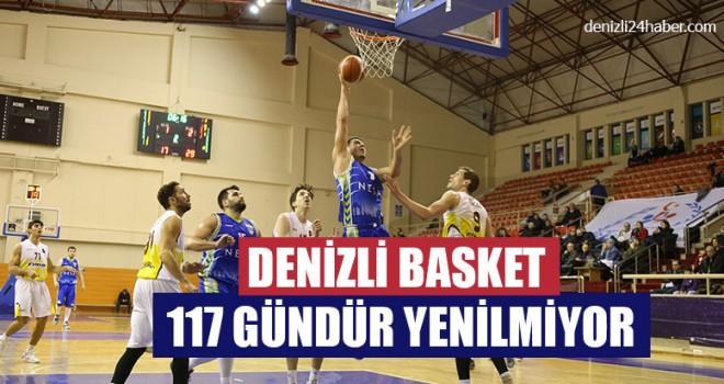 Denizli Basket 117 Gündür Yenilmiyor