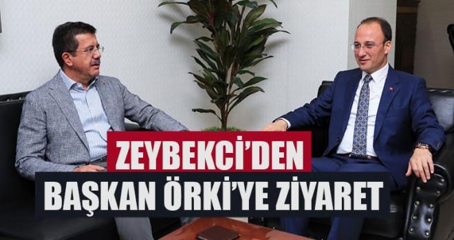 Zeybekci'den Başkan Örki'ye Ziyaret