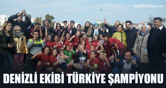 Denizli Ekibi Türkiye Şampiyonu